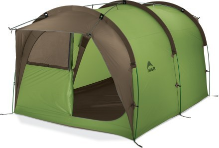 MSR Backcountry Barn Tent Design type Freestanding tent Brand MSR Sleeping capacity 4 Floor area 80 Number of doors 1 Seasons 3 Packaged ...  sc 1 st  Family C&ing Tents - Comparical & Alternatives to The North Face Docking Station 2-Person Dock